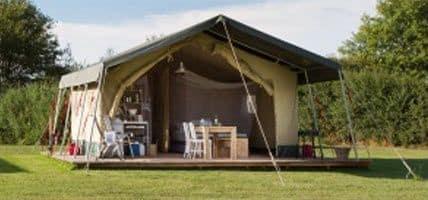 Luxe Tent Huren - Safaritent - Luxe kamperen op een glamping - www.luxetenthuren.nl