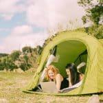 Kamperen op een glamping - Luxe tent, glamorous camping - www.luxetenthuren.nl