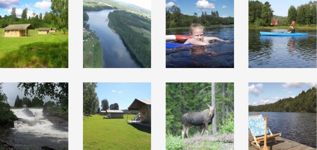 Glamping Storängens in Zweden - Luxe camping vakantie in een Safari of Lodgetent boek nu bij www.luxetenthuren.nl