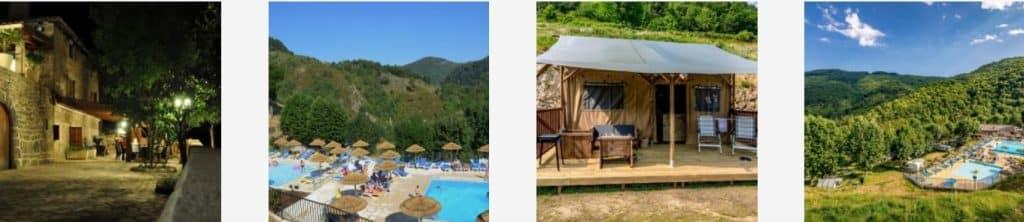 Camping l'Ardechois in Frankrijk - Glamping vakantie in een luxe Safaritent of Lodgetent - www.luxetenthuren.nl