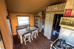 Glamping Vallicella in Italië - camping vakantie in een luxe Safaritent boek nu bij www.luxetenthuren.nl
