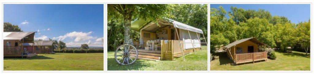Glamping vakantie op een Agriturismo - Luxe Tent Huren - Kleine Camping met olijfbomen - www.LuxeTentHuren.nl