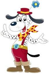 Spotty is de vrolijke campinghond uit Italië - www.spottyclub.com