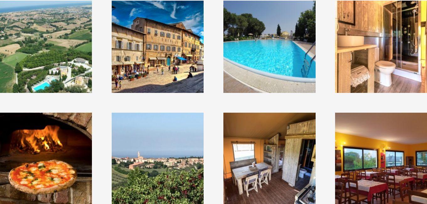 Camping Mar y Sierra Le Marche - Familiecamping Italie - Marotto Adriatische Zee - www.LuxeTentHuren.nl