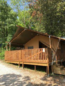 Camping Mar y Sierra Marrot Le Marche - Safarietent met badkamer Italie - Adriatische Zee - www.LuxeTentHuren.nl