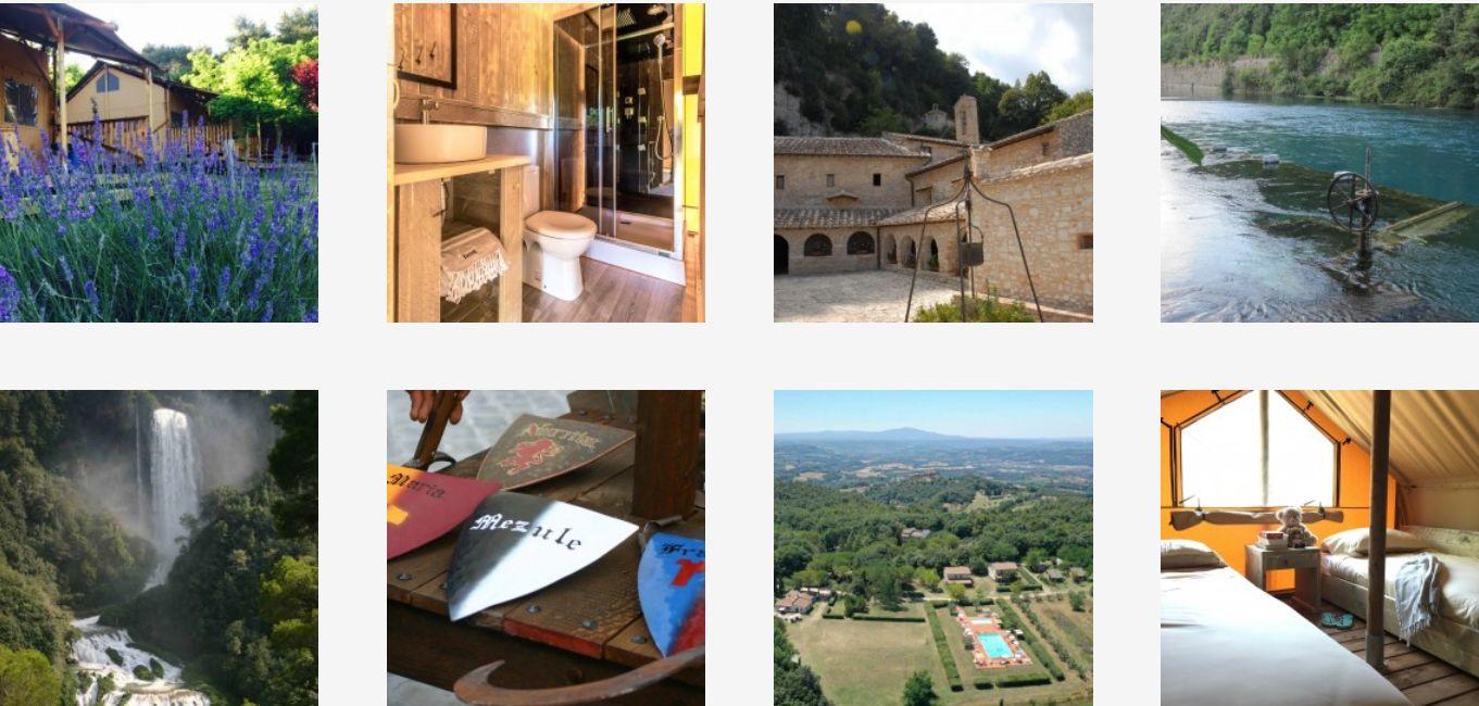Camping Monti Del Sol - Toscane - Umbria - Kleine Italiaanse Familiecamping Italie - www.LuxeTentHuren.nl