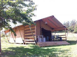 Camping Podere Sei Poorte Monteciccardo - Luxe Safaritent Huren - Kleine Familiecamping Italie - www.LuxeTentHuren.nl