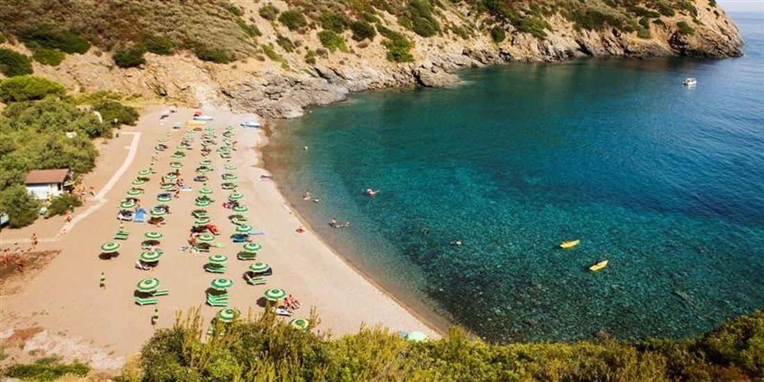 Camping Tenuta delle Ripalte Elba - Strand en Zee- Kleine Familiecamping Italie - www.LuxeTentHuren.nl