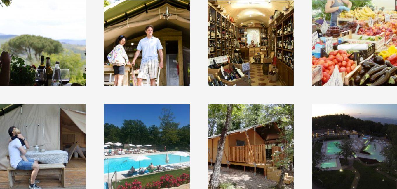 Glamping Orlando Chiant Toscane Italie - Luxe Tent Huren in Toscane, boek nu - www.LuxeTentHuren.nl