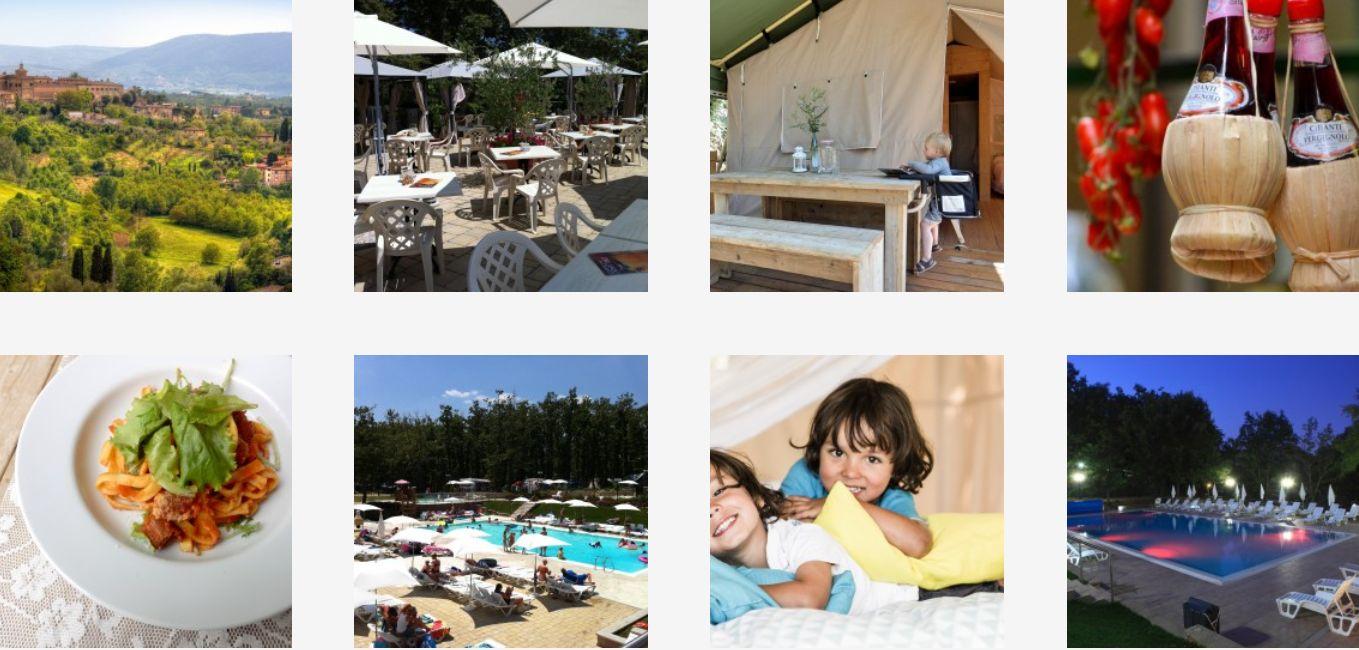 Glamping Orlando Toscane Chiant Italie - Luxe Tent Huren in Toscane, boek nu - www.LuxeTentHuren.nl