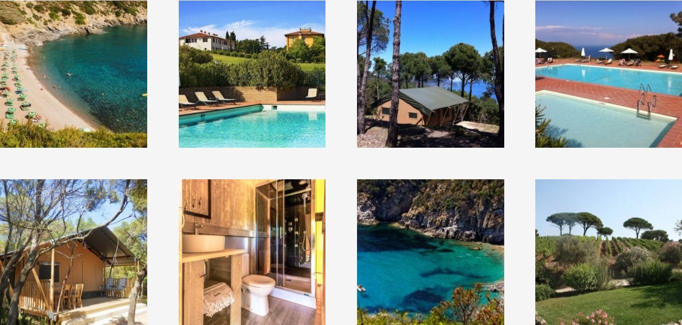 Glamping Tenuta delle Ripalte Elba - Middenlandse Zee, Elba - Kleine Familiecamping Italie - www.LuxeTentHuren.nl