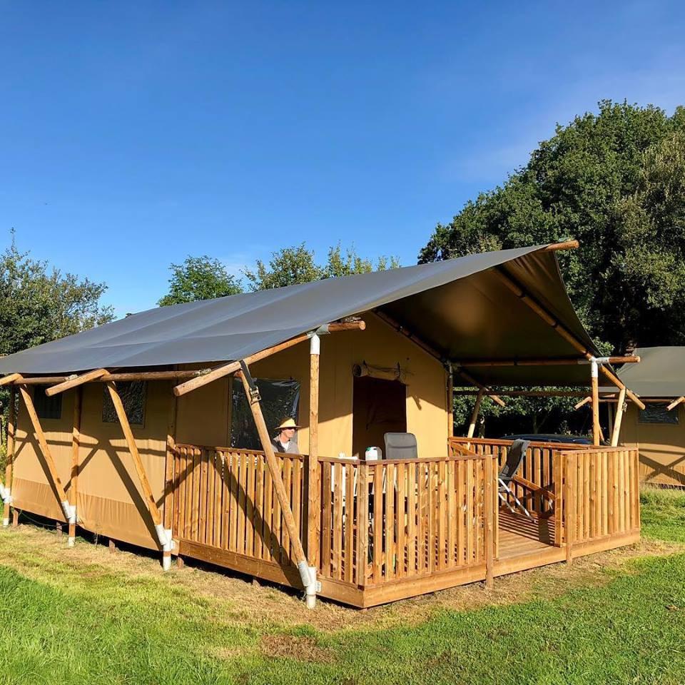 Camping O2 - Luxe Safaritent huren - Glamping Vakantie Specialist - www.LuxeTentHuren.nl