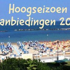 Hoogseizoen aanbiedingen 2021 - Luxe Tent Huren - www.LuxeTentHuren.nl