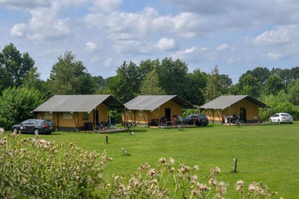 Camping Recreatiepark Westerkwartier- Glamping Nederland Niebert - Luxe Safaritent huren - www.LuxeTentHuren.nl