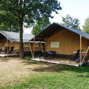 Camping de Koekamp - Glamping Nederland Epe - Luxe Safaritent huren - www.LuxeTentHuren.nl