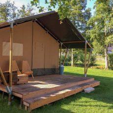 Camping de Wrange - Glamping Nederland Doetinchem - Luxe Safaritent huren - www.LuxeTentHuren.nl