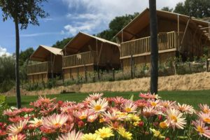 Camping Countryhouse Il Girasole - Safaritent met prive Sanitaire - Agriturismo Toscane - www.LuxeTentHuren.nl