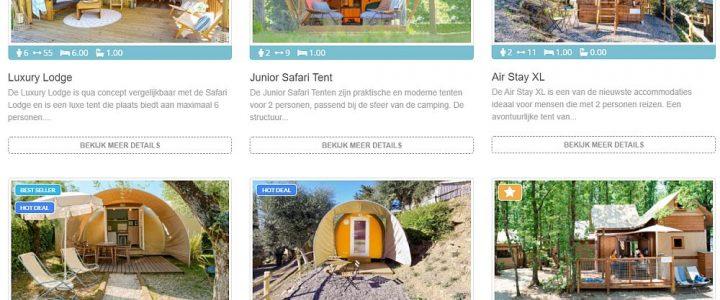 Vallicella Glamping Resort - Kies je Safaritent - www.LuxeTentHuren.nl
