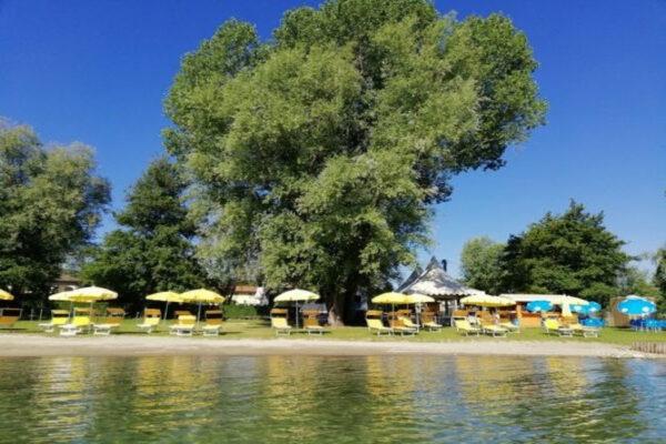 Camping Lago Maggiore - camping Italie Toscane -aan het meer- www.LuxeTentHuren.nl
