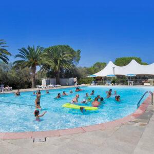 Camping Toscana Bella - camping Italie Toscane - Het zwembad - www.LuxeTentHuren.nl
