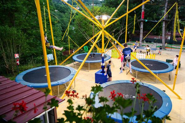 Norcenni Girasole club - camping Italie Toscane -fun - www.LuxeTentHuren.nl