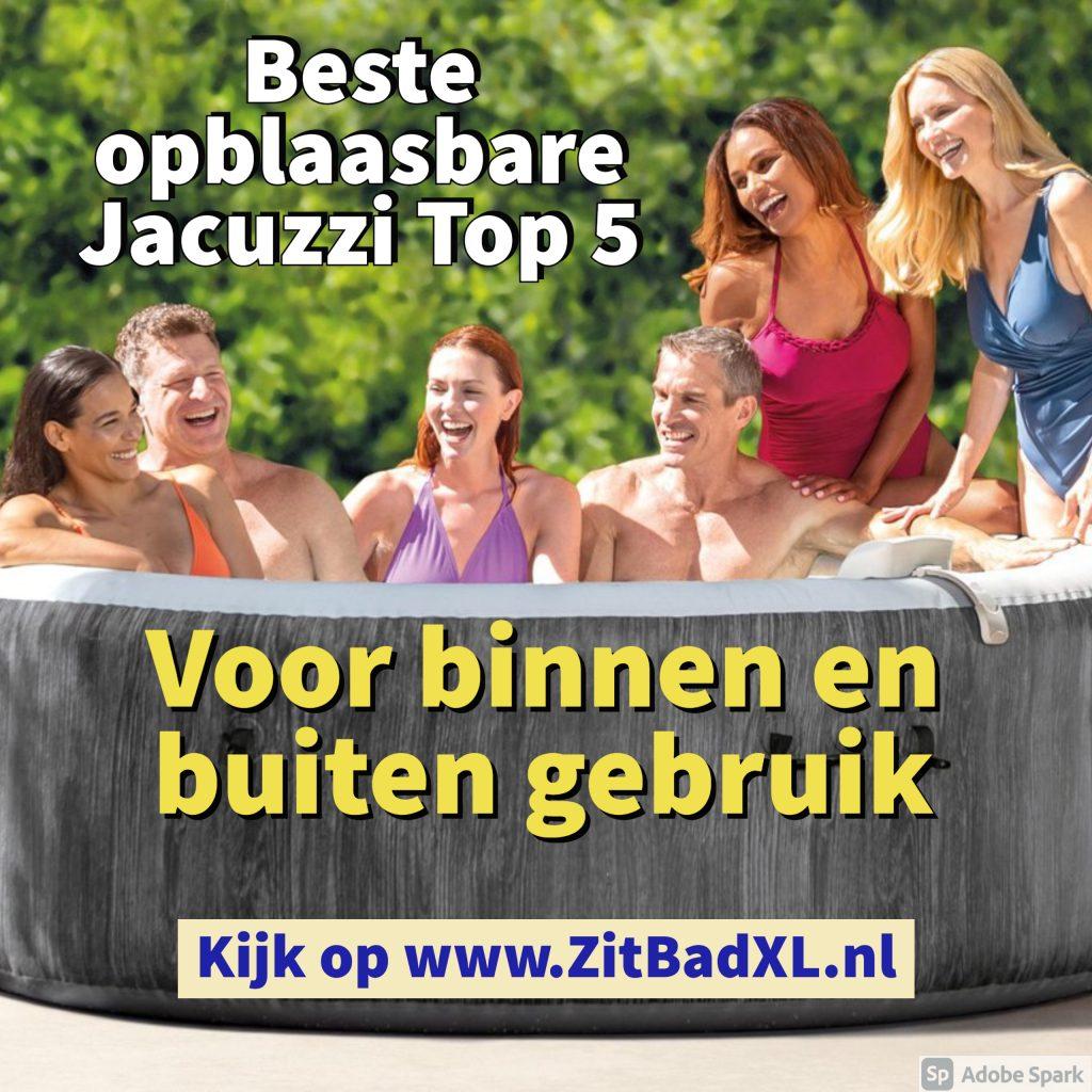 Beste opblaasbare jacuzzi Top 5 - www.ZitBadXL.nl